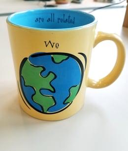 we are all related mug