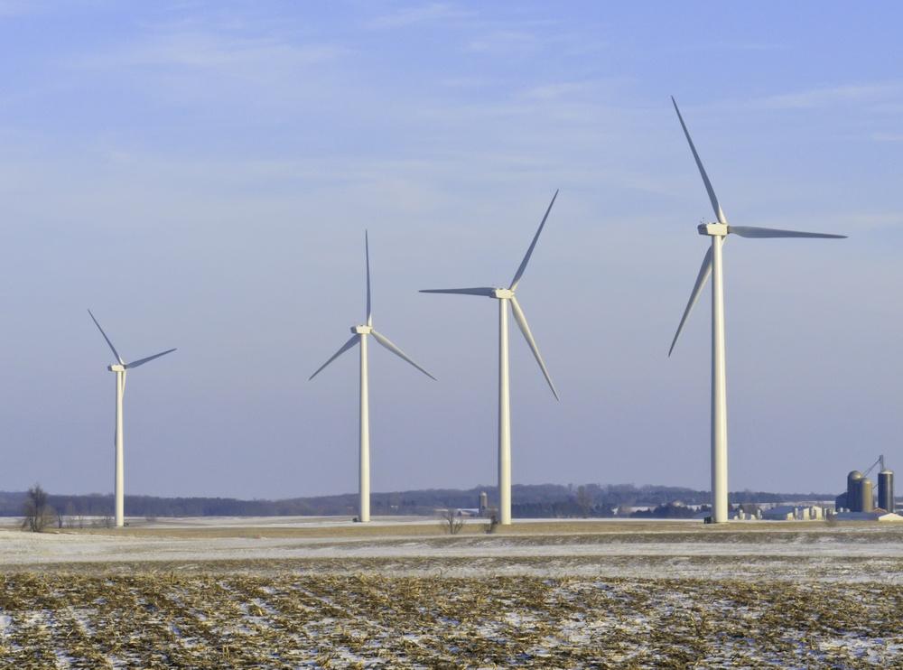 wind turbines sustainable energy