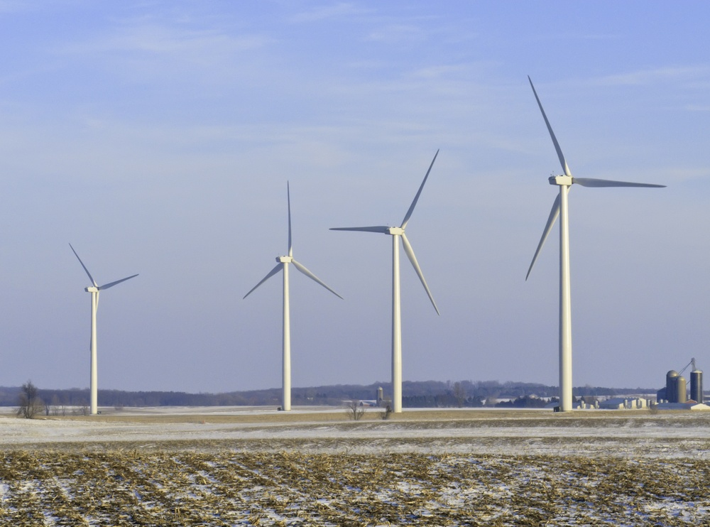 wind turbines sustainable energy