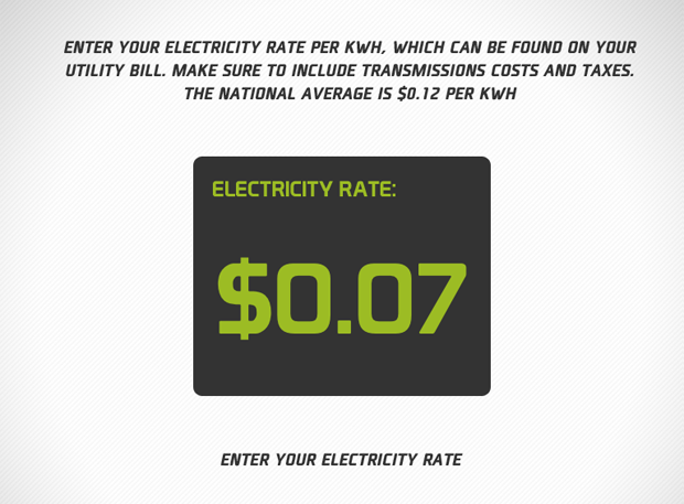 Verde Green Energy Rate