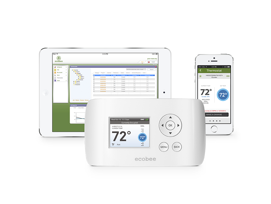 ecobee ems si smart thermostat